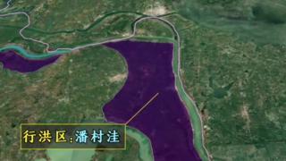 安徽的泄洪,沿河那么多泄洪区、那么多田地和庄稼,这片区域的安徽人真的太不容易了