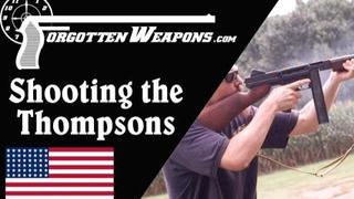 【被遗忘的武器/双语】汤普森大射爆 - 1921型 vs 21/28型 vs M1A1