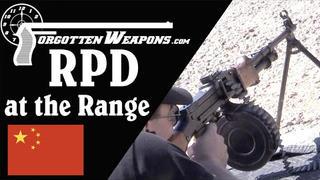 【被遗忘的武器/双语】靶场上的RPD (56式班用机枪) - 共产阵营的SAW