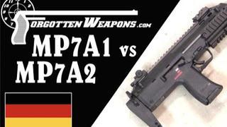 【被遗忘的武器/双语】MP7A1与A2: H&K的现代单兵自卫武器