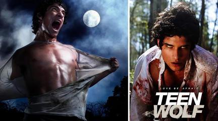 经典魔幻剧《少狼》高中生被狼人咬伤,每当月圆之变为嗜血怪物