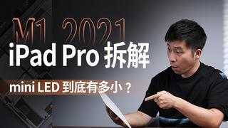 【享拆】2021 M1 iPad Pro拆解:看看mini LED到底有多小?