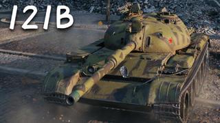 【坦克世界】121B:5杀 - 万伤,小城管(鲁别克)