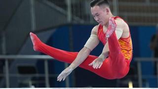 【全程回放】男子竞技体操全能决赛 肖若腾带伤上阵夺得银牌