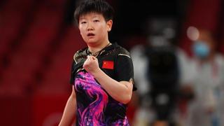【全程回放】女单乒乓球1/4决赛 中国小将孙颖莎顺利晋级四强