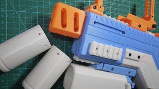 3D打印的下挂NERF海绵榴弹?霰弹?