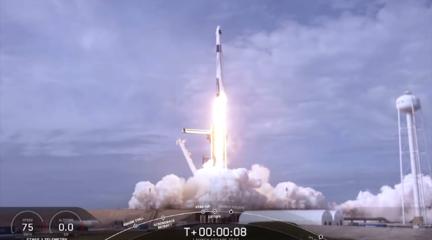 """""""炸""""火箭测试飞船逃生能力?"""