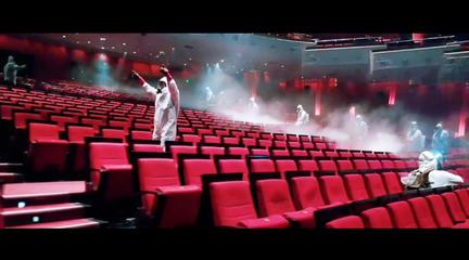 武汉市琴台大剧院全面消杀