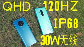 【像素格命】QHD+120HZ+双主摄+IP68防水+30W无线充电——真水桶机一加8影像详评