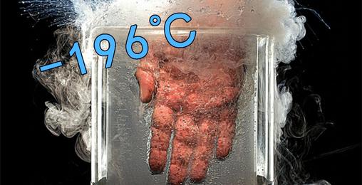 作大死!把手放进-196°C的液氮里会如何?
