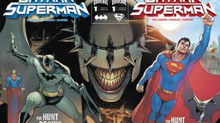 「独家」超人/蝙蝠侠VS狂笑之蝠