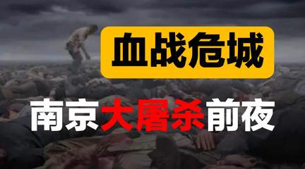 【认知金字塔】南京沦陷前后
