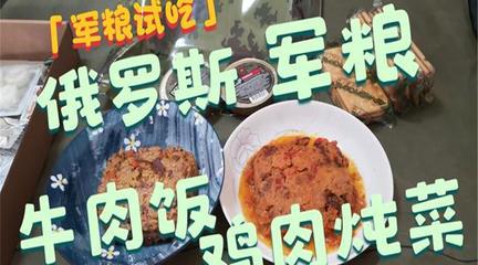 奶酪牛肉米饭鸡肉炖菜罐头