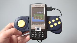 十多年前的国产游戏手机!独特的设计颇为骚气
