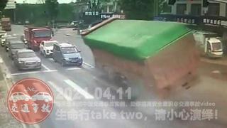 中国交通事故20210411:每天最新的车祸实例,助你提高安全意识