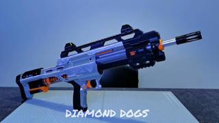 【志气NERF测评】钻石狗哈皮2.0软弹发射器lynx发射器