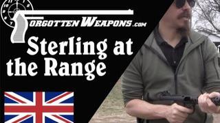 【被遗忘的武器/双语】靶场上的斯特林冲锋枪