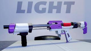 【志气NERF测评】Leon- 强袭L2- light版本- 软弹发射器