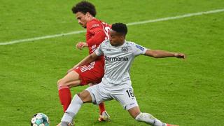 2020-2021赛季德甲第30轮 拜仁慕尼黑vs勒沃库森 全场集锦