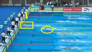 一骑绝尘?自由泳19岁中国游泳新人王爆发,甩开对手3米远破纪录