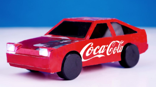 如何用易拉罐制作一个头文字D的AE86模型