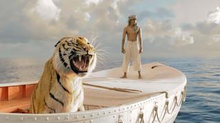 少年与老虎被困海上,结局令人意想不到,一部唯美又恐怖的冒险片